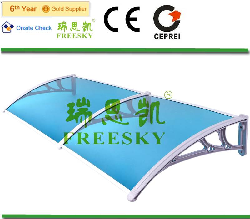 YP60160 free shipping window and door polycarbonate awning