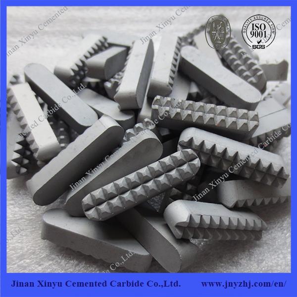 YG8 Good Wear Resistant Tungsten carbide gripper insert
