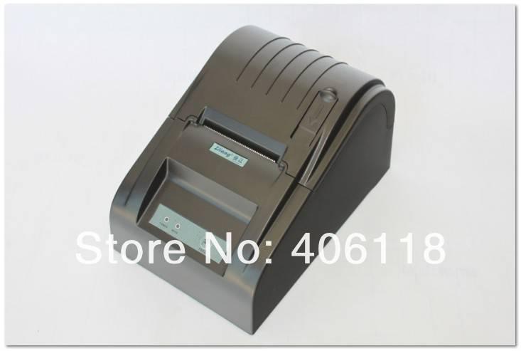 POS58 small ticket printer ZJ5890 POS printer,mini thermal receipt printer ticket pos (black/white)W