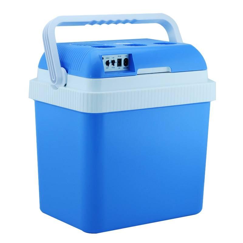 Cooler or Warmer 12V 24L 124B Mini Car Refrigerator /Car Small Refrigerator Dual-Use Refrigerator In