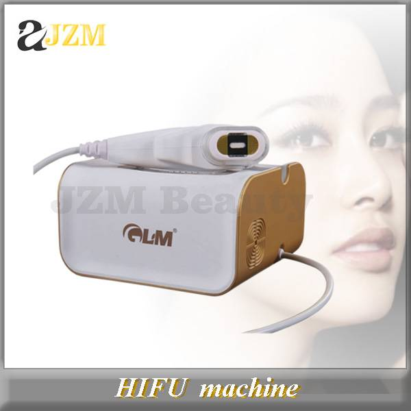 Home use mini HIFU machine for anti-aging wrinkle removal facial lifting