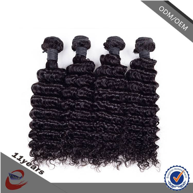 Natural Color 1B# Cheap Wholesale Brazilian Hair Extensions South Africa