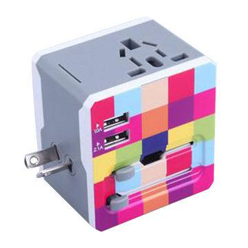 Newest Travel Adapter with 2 USB Charger