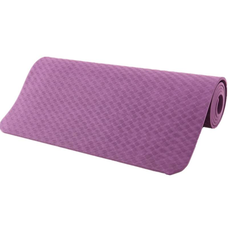 "YOGA MAT: Eco-friendly, nontoxic foam construction. Extra-thick and durable. 24"" x 72"" x 1/4"""