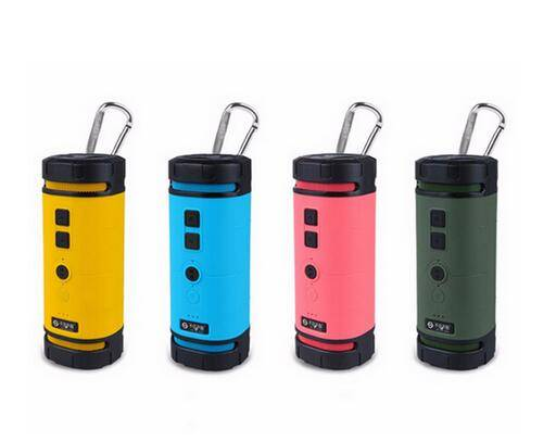 Portable Bluetooth Speakers Stereo Audio Sound Outdoor Waterproof Shockproof Speaker