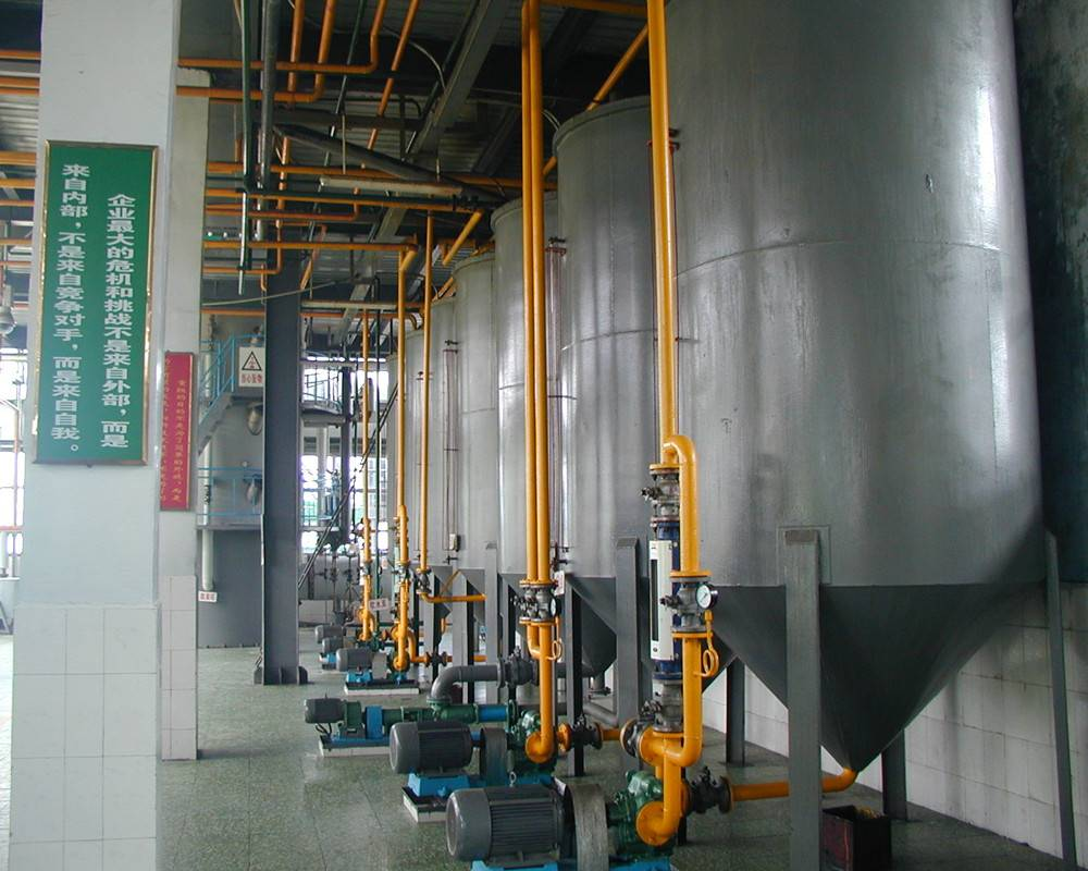 Introduction of crude Soybean oil refining process