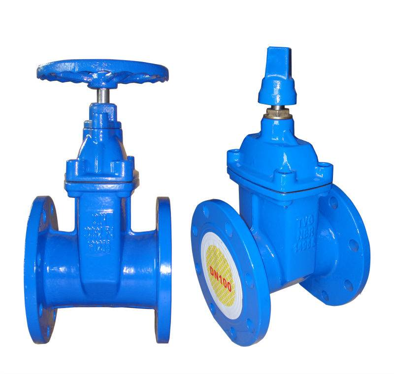 DI Resilient Seated gate valve F4 DN100 PN10 Small Type US$32.0