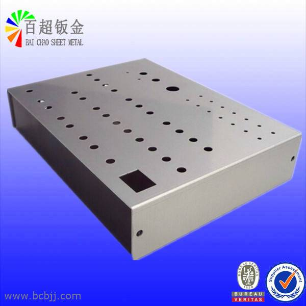 Sheet Metal Punching Parts with Cutting / Bending / Powder Coated Processing From China Hangzhou