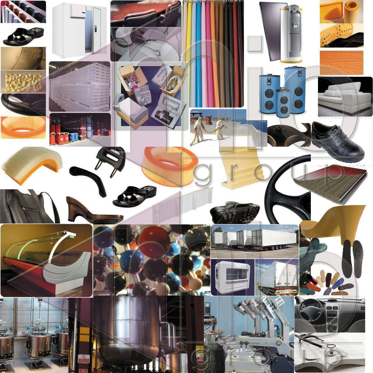 Polyurethane Systems (Rigid, Slipper-Sole, Integral, Flexible, Coating, Coagulation, Filter)