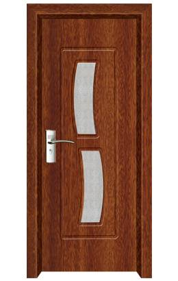 decorative pvc interior swinging door (MP-032)