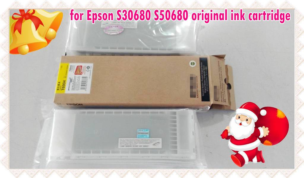 for Epson Surecolor S30680 S50680 original ink cartridge with Eco-solvent ink in 700ml
