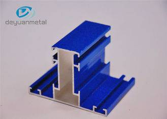 Mill Finished / Blue Powder Coating Wood Grain 110Mpa Yield strength