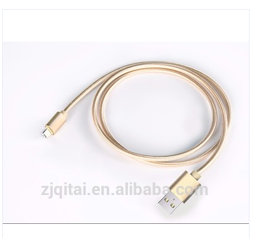 Usb Splitter Cable 2 Female 1 Male Braided Data Cable In Promotion