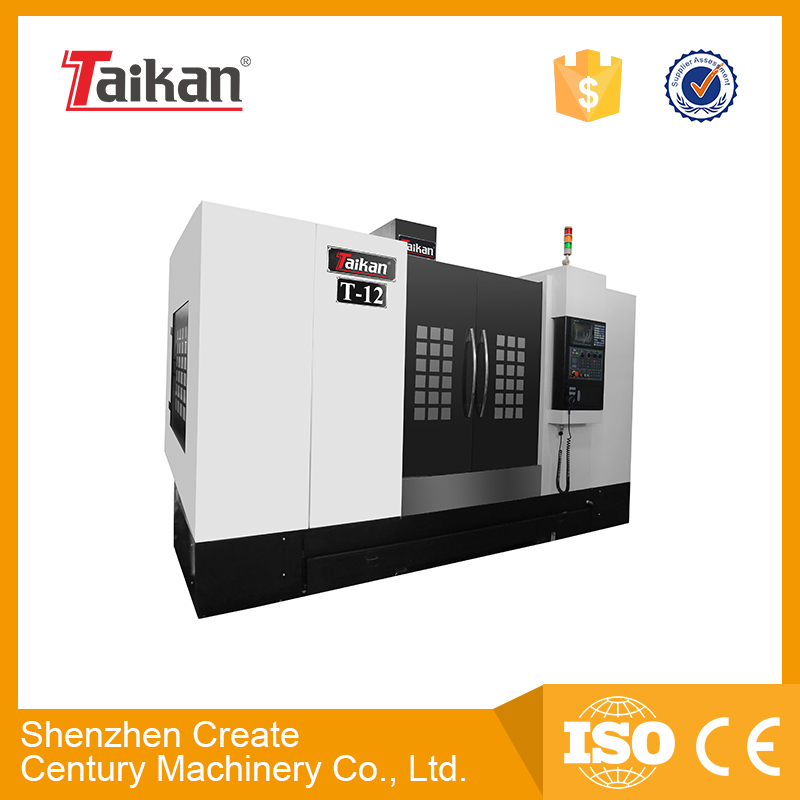 Chinese best quality cnc machining center for metal mold T-12