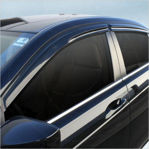 Vacuum moulding auto ventshade of American brand import Car accessories as window rain guard