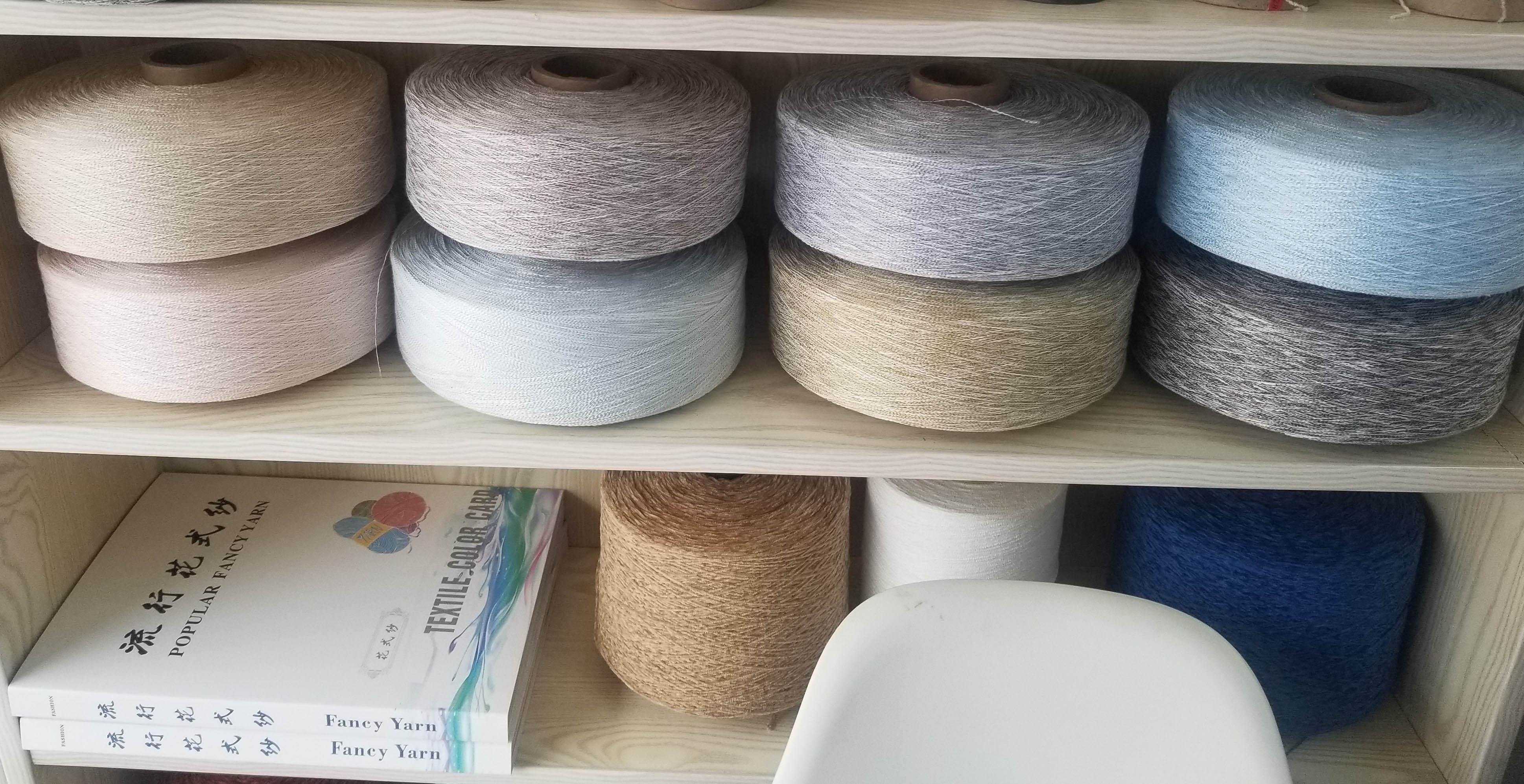 Big-Belly Yarn, 100%Polyester, Fancy Yarn