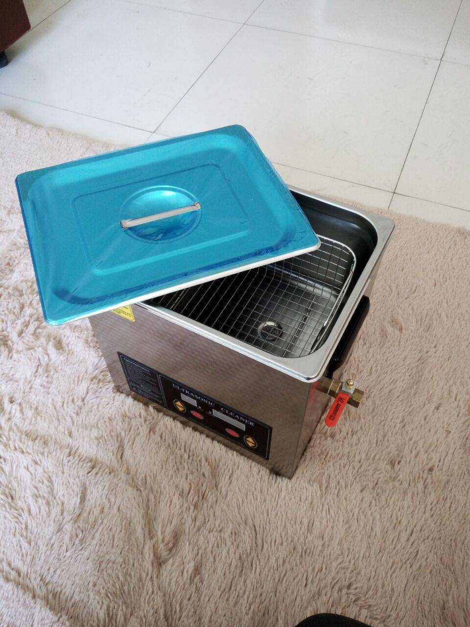 Stainless Steel 30L Ultrasonic Cleaner (MEK-30L)