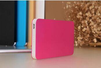 2016 New Arrival Quick Power Bank Charger/mobile phone travel quick charger 8000mAh