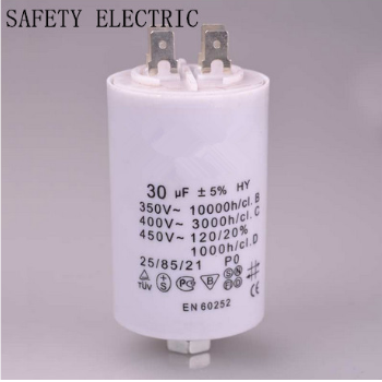 CBB60 Washing Machine Capacitor with VDE, Ce, UL, RoHS Certificate