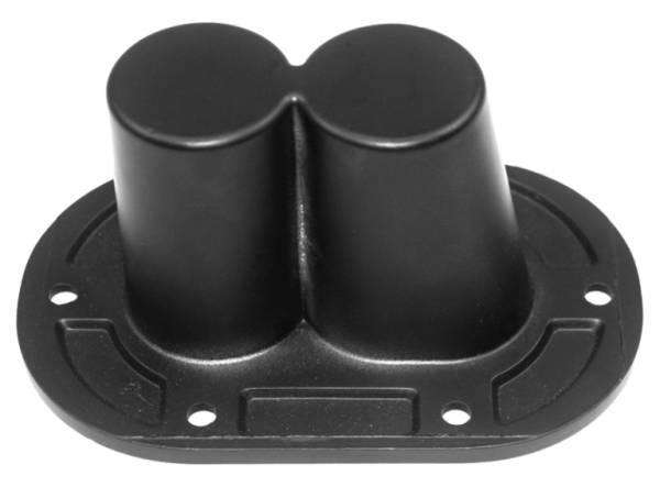 PA speaker parts Dual Pole Mount Bracket of Pro Audio loudspeaker