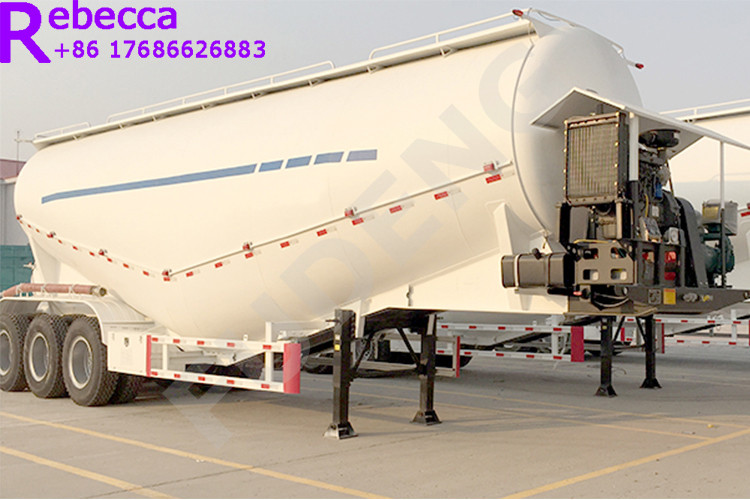 3 axle 45cbm bulk cement tanker semi trailer in China