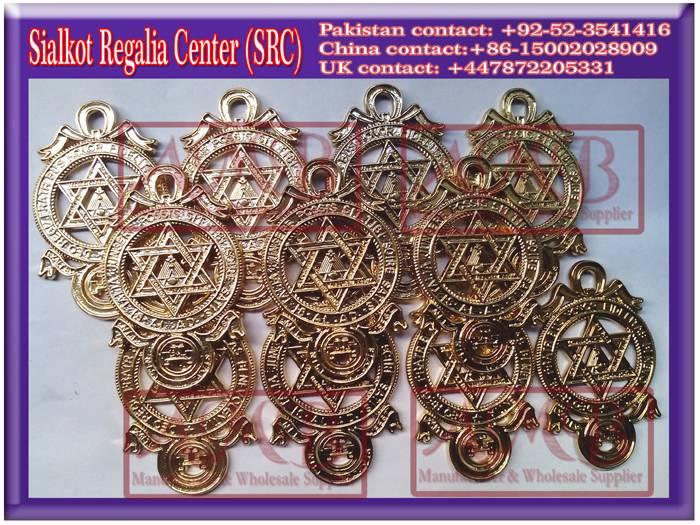 Royal Arch Breast Jewels