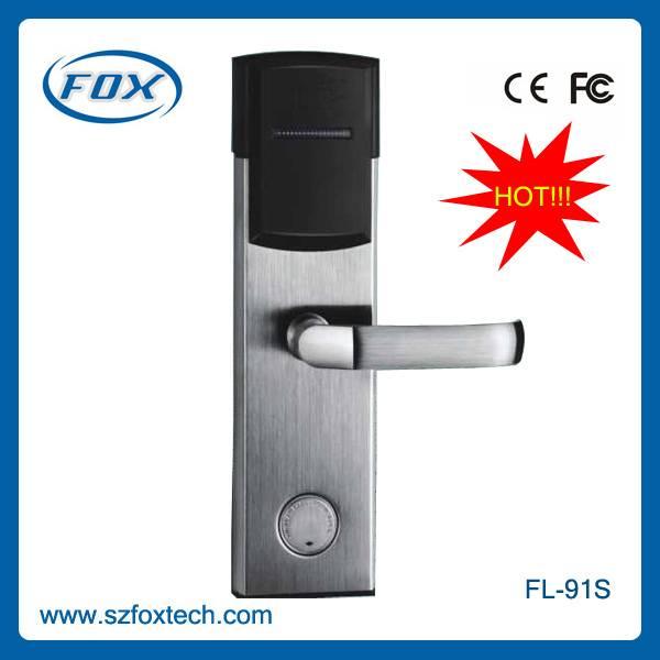 Electronic digital card hotel door lock