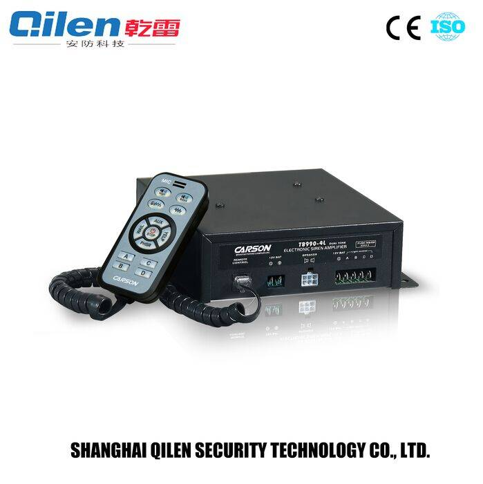 high power alarm security systems electronic siren amplifier for fire truck TB-990