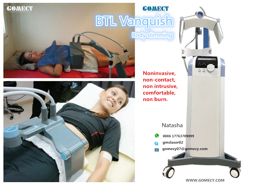 GOMECY BTL Vanquish body shaping non-contact Fat Reduction face slimming machine