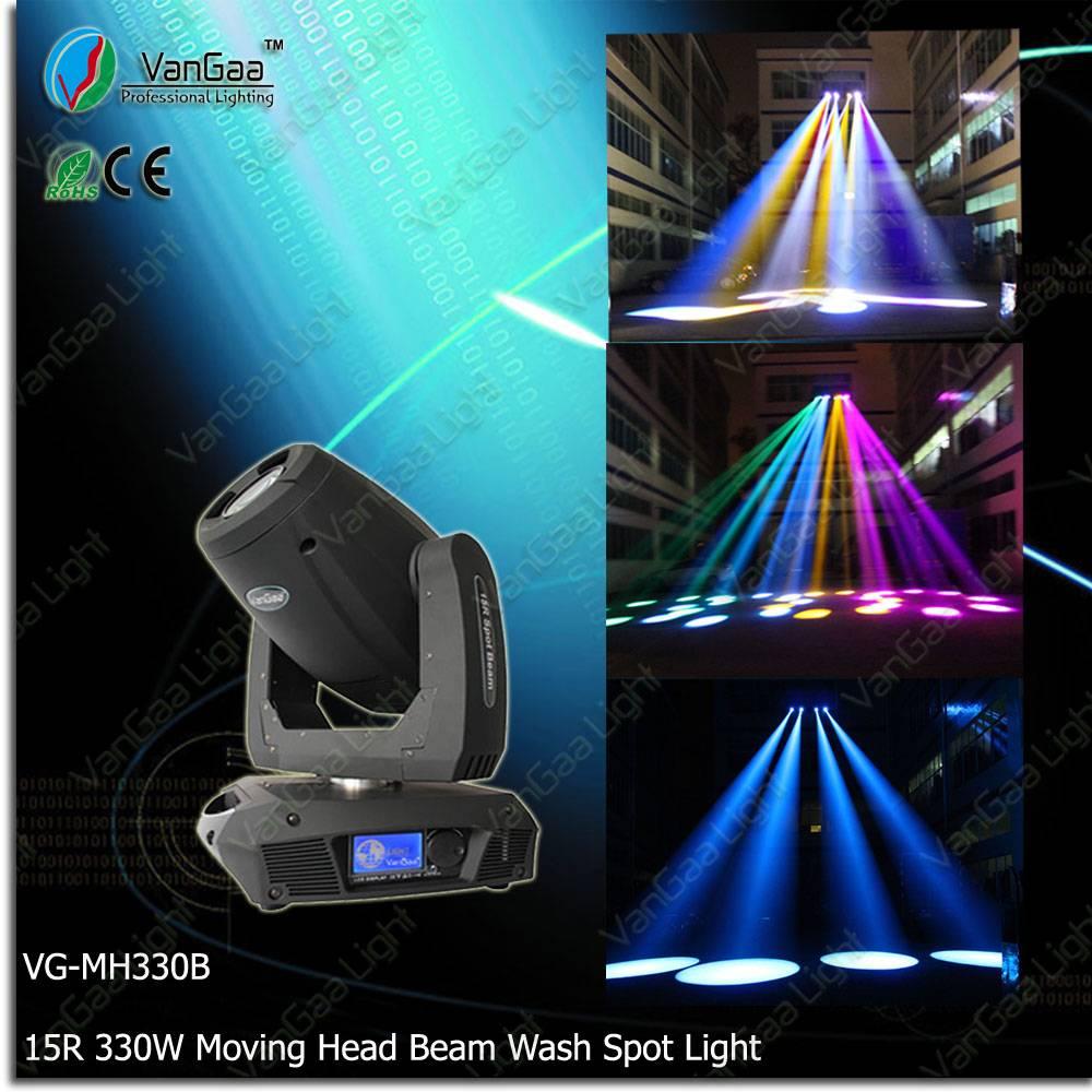 Stage lighting equipment guangzhou factory 15R 330W Spot CMY beam cabeza movil