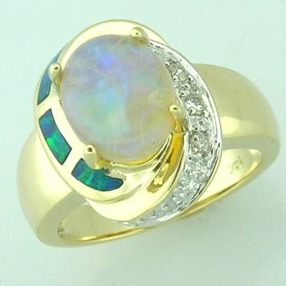 Opal Gold Jewelry