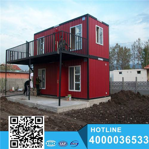 Four bedrooms holiday two floor container house
