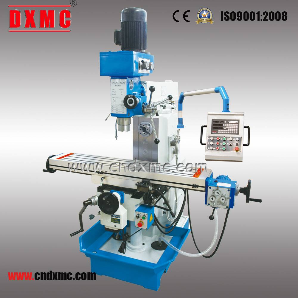Hot Sale High Quality Vertical and Horizontal Turret Milling Machine ZX6350C