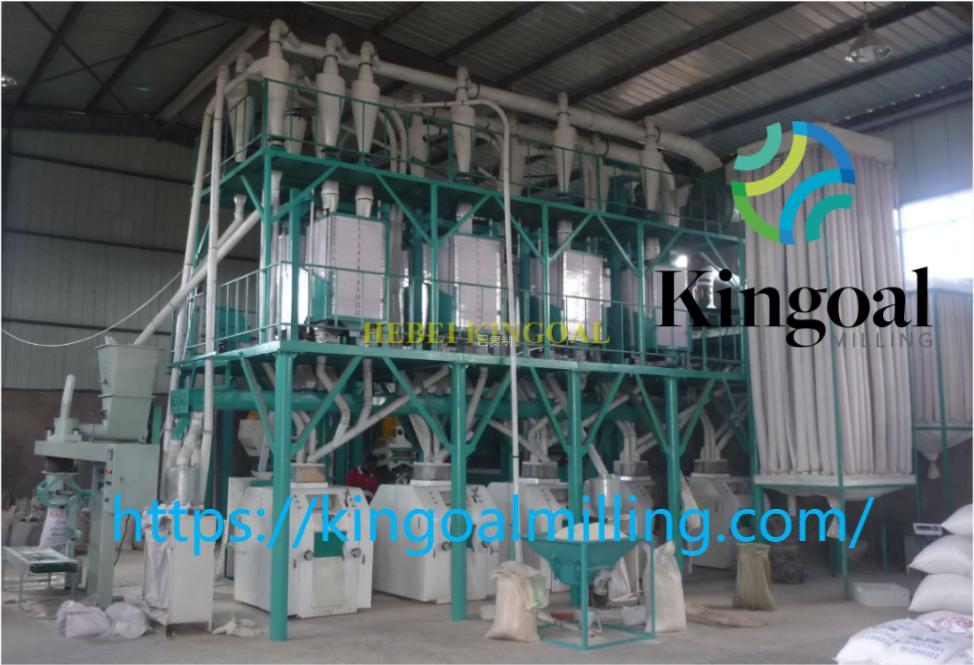 50 ton wheat flour mill machine