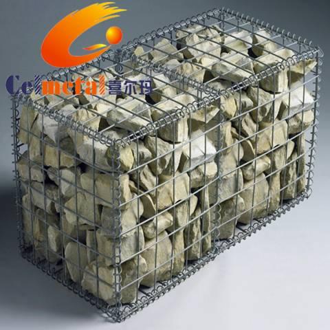 Gabion boxes gabion basket gabion mesh/gabion(ISO Factory)