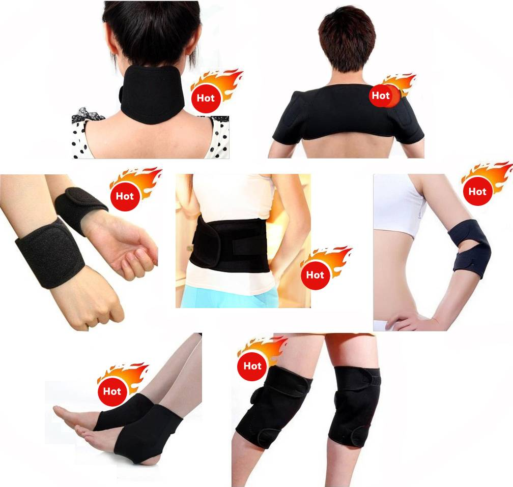 Tourmaline 7sets magnetic therapy belt