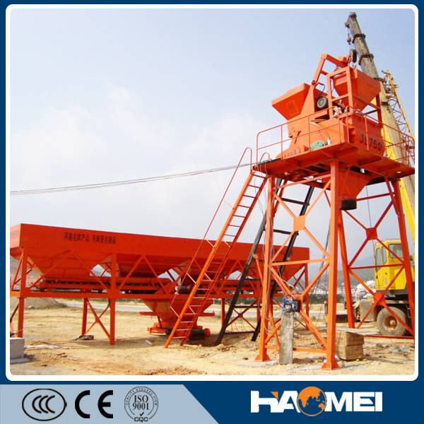 HZS25 portable concrete batch plants for sale