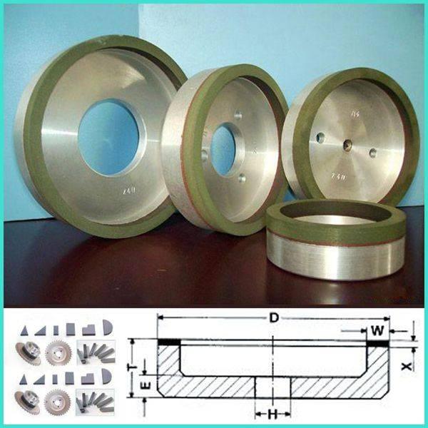 Ceramic Diamond Grinding Wheel for Gemstone Processing and Gem Polishing