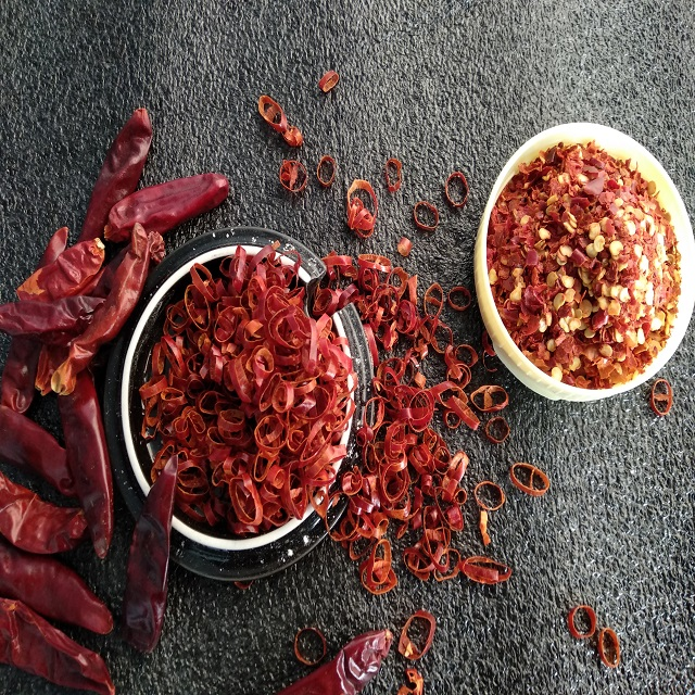 Red Chilli Dried Pepper Rings