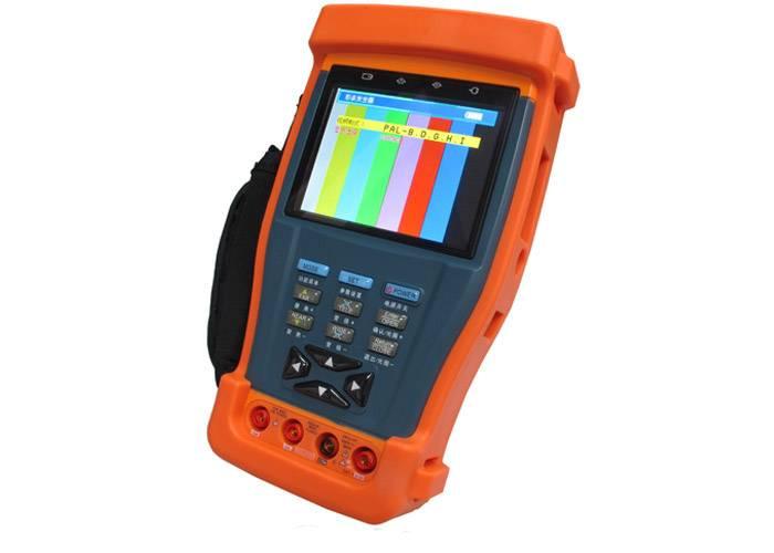 "Hot 3.5"" CCTV Tester in Digital multimeter/PTZ Controller / Video signal generator / UTP cable teste"