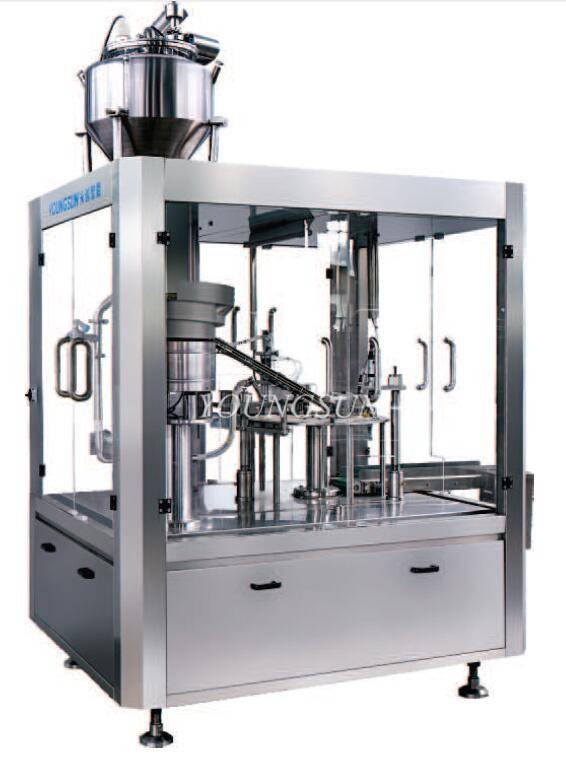YSXZL-5000 Jelly/Soy Milk/Juice Filling & Capping Machine