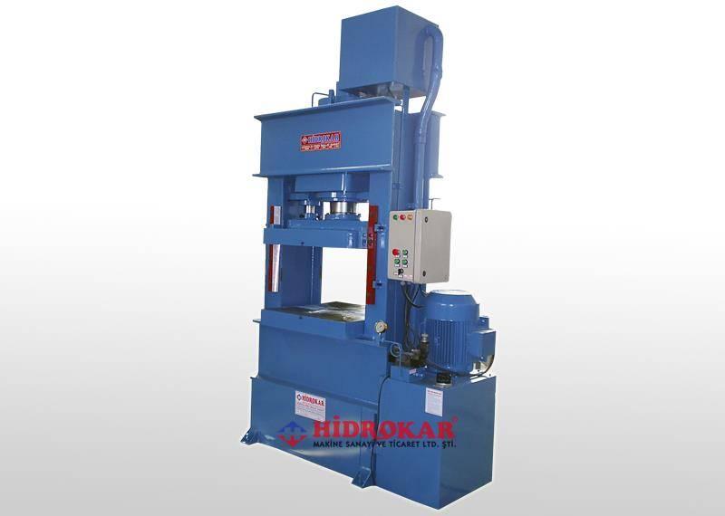 hydraulic deep drawing press 300 tons workshop type