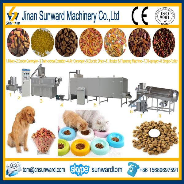 Dog Food Pellet Processing Line Machinery