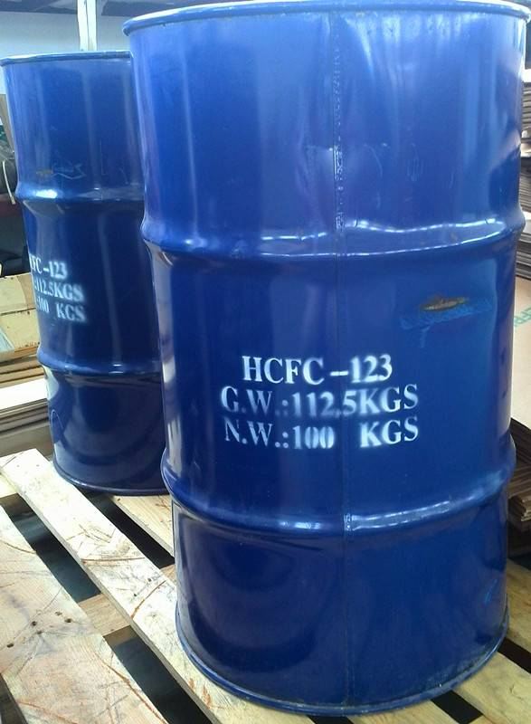 High Purity refrigerant gas r123