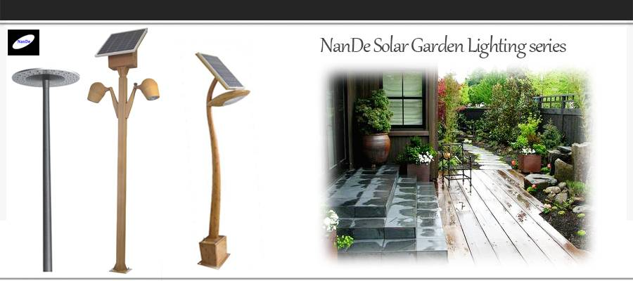 2016 manufacturer solar LED garden light