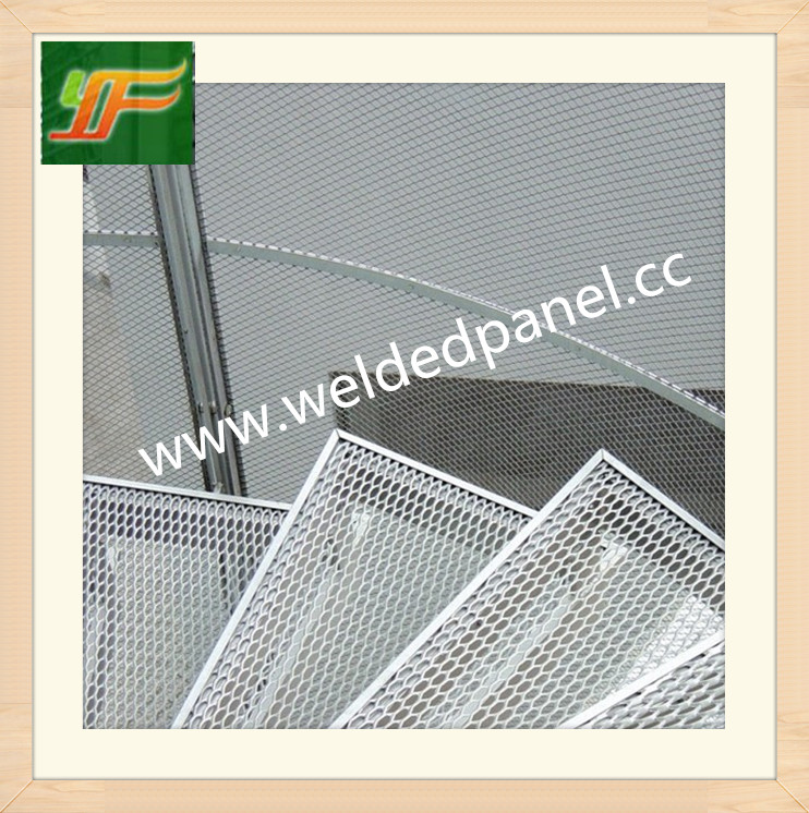 High quality and best selling low carbon galvanized expanded metal mesh panel