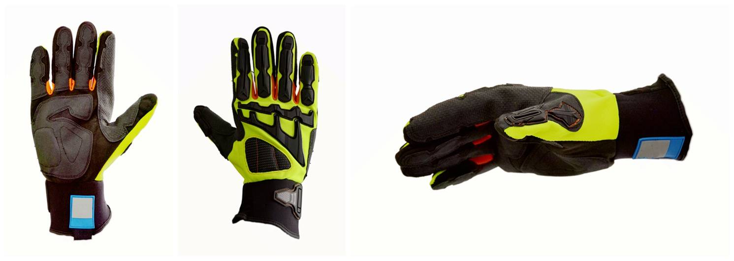 Anti-Slip and Anti-Cut Full Protection Synthetic Leather Glove