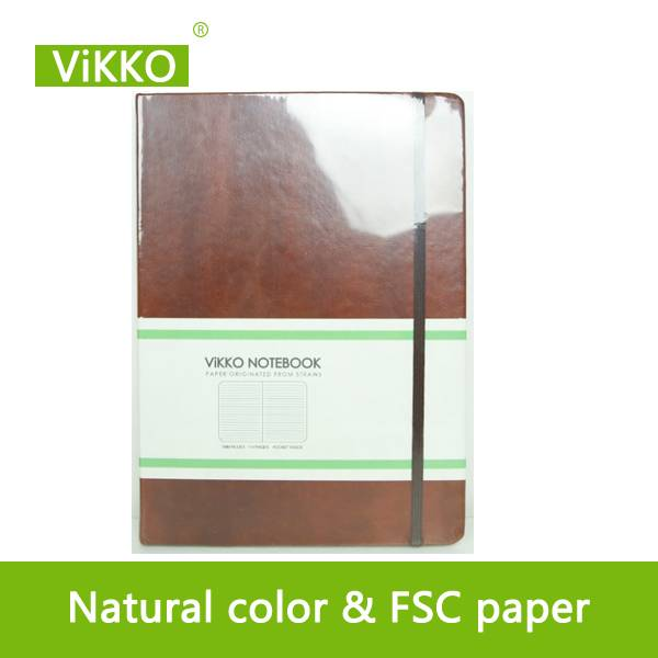 emboss cover casebound notebook