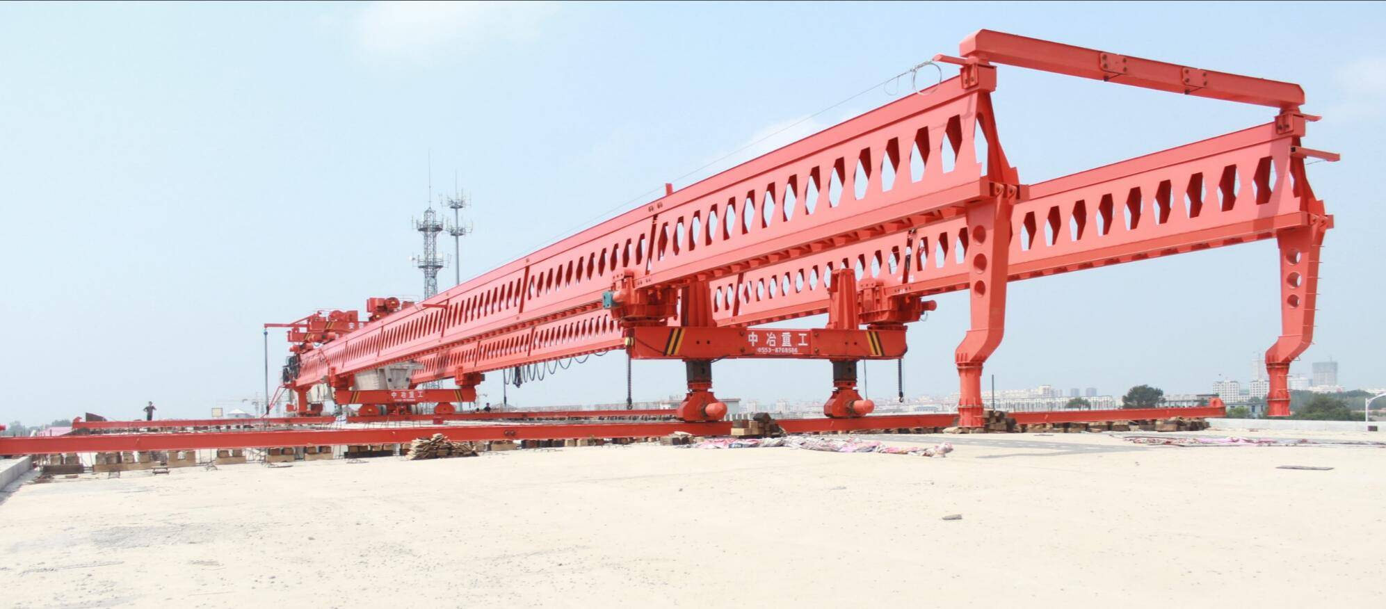 JQG-200T-40M bridge girder launcher