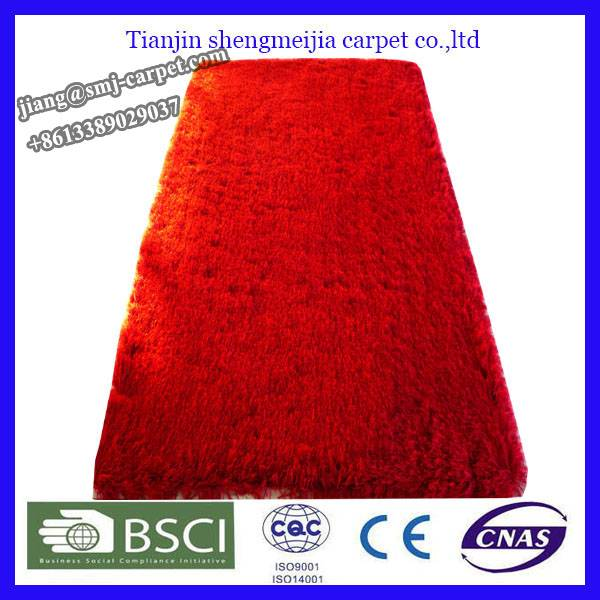 100% polyester house carpet tile manufacture from china